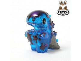 "Unbox Industries x Ziqi 4"" Blue Ice Cream Dino_ Special Ver Vinyl Figure _ZZ078U"