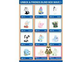 Unbox Industries & Friends Blind Box Wave 1_ Figure Set of 12 _UBX008Z