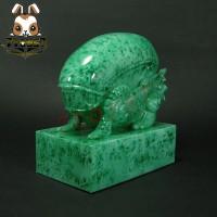 Unbox Industries x Herocross - Warrior from the Jade Galaxy Vinyl_ Alien Warrior _Now ZZ078JC