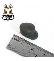 Unibrick Minifig German WWII Headwear_ M43 Green Field Cap _ Custom Brick UN001C