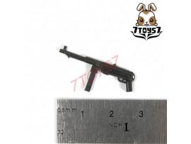 Unibrick Minifig WWII German Soldier_ MP40 Machine gun _Toys Brick UN003E