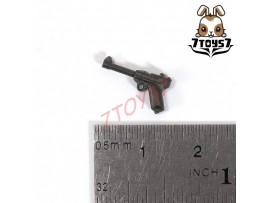 Unibrick Minifig WWII German Soldier_ P08 Pistol _Toys Brick UN003H