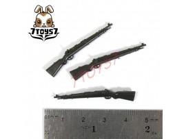 Unibrick Minifig WWII German Soldier_ K98K Rifle x 3 _Toys Brick UN003K