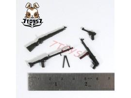 Unibrick Minifig WWII German Soldier_ Weapon Set / 4 _Toys Brick UN003S