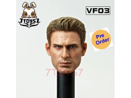 [Pre-order deposit] VFToys 1/6 VF03 Hero Star_ Head _VFT001A