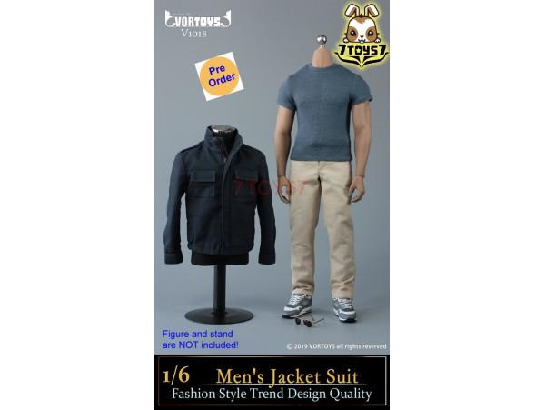 [Pre-order deposit] VORTOYS 1/6 V1018 Men's Jacket Suit_ Set _VR004B