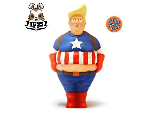 """[Pre-order] VTSS 8"""" Hero Make Captain Great Again_ Vinyl Figure _VTT002C"""