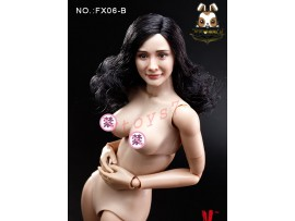 Verycool 1/6 FX06-B Asian Actress_ Body w/ curly hair Head Set _VC053Z