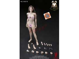 [Pre-order] Verycool 1/6 FX07B Supermodel_ Body w/ brown straight hair Head Set _VC057Z