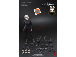 [Pre-order] Verycool 1/6 VCF-2033B Female Assassin - Catch Me_ Box Set _Strabismus scar head VC056Z