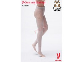 Verycool 1/6 Female Mesh Stockings_ #C White _Fashion VCF2001 Now VC007C
