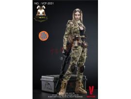 [Pre-order] Verycool 1/6 VCF2031 MC Camouflage Women Soldier – Villa_ Box Set _VC051Z