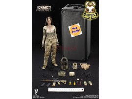 [Pre-order deposit] Verycool 1/6 VCF-2037A A-TACS FG Women Soldier - Jenner (A Style)_ Box Set _VC061X