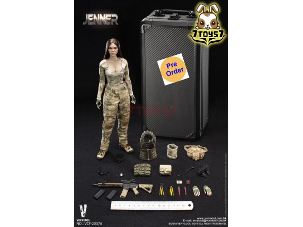 [Pre-order] Verycool 1/6 VCF-2037A A-TACS FG Women Soldier - Jenner (A Style)_ Box Set _VC061X