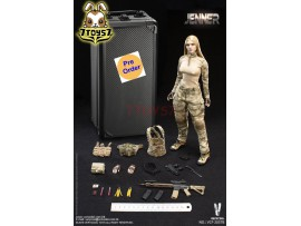[Pre-order deposit] Verycool 1/6 VCF-2037B A-TACS FG Women Soldier - Jenner (B Style)_ Box Set _VC061Y