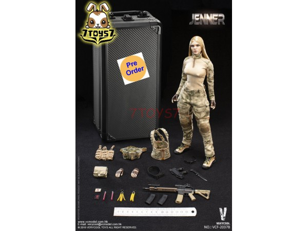 [Pre-order] Verycool 1/6 VCF-2037B A-TACS FG Women Soldier - Jenner (B Style)_ Box Set _VC061Y