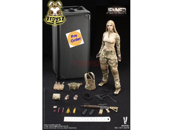 [Pre-order deposit] Verycool 1/6 VCF-2037B A-TACS FG Women Soldier - Jenner (B Style)_ Box Set _VC061Y