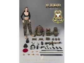 Verycool 1/6 VCF-2050 FLECKTARN Women Soldier - Kerr_ Box Set _VC066Z