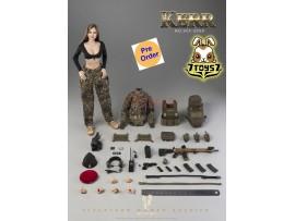 [Pre-order deposit] Verycool 1/6 VCF-2050 FLECKTARN Women Soldier - Kerr_ Box Set _VC066Z