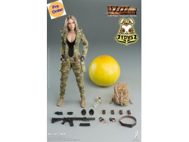 [Pre-order deposit] Verycool 1/12 VCF-3004 Palm Treasure Series - MC Camouflage Women Soldier: Villa_ Box Set _VC072Z