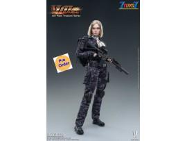[Pre-order deposit] Verycool 1/12 VCF-3005 Palm Treasure Series - Black MC Camouflage Women Soldier - Villa_ Box Set _VC085Z