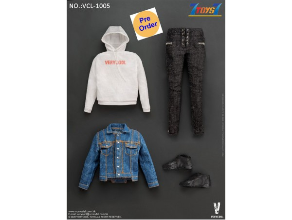 [Pre-order deposit] Verycool 1/6 VCL-1005 Denim Leisure Wear_ Set _VC077Z