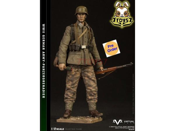[Pre-order deposit] Virtual Toys 1/12 VG001 Pocket Elite Series: WWII German Army - Panzergrenadier_ Box _VTS VS021Y