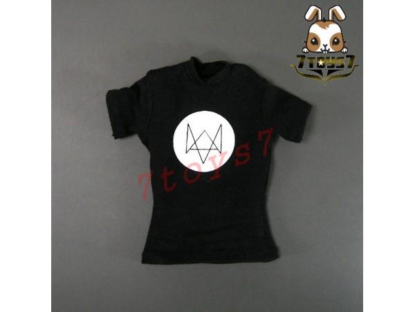 Virtual Toys 1/6 VM016 Nightmare Stalker_ Black T-shirt _Adam Pearce Now VS011L