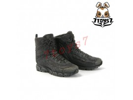 Virtual Toys 1/6 The Darkzone Agent_ Boots w/ pegs _VTS Video games Now VS012D
