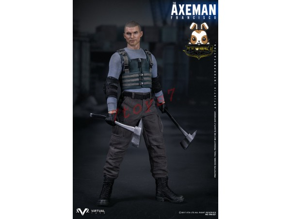 Virtual Toys 1/6 VM021 The Axeman Francisco_ Box Set _Movie VTS Now VS015Z