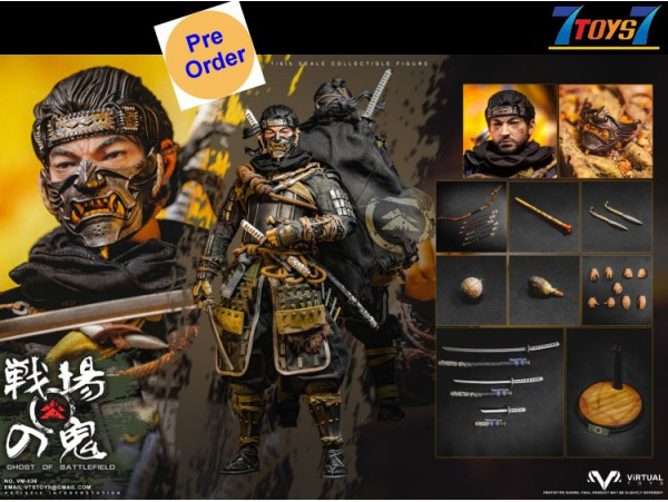 [Pre-order deposit] Virtual Toys 1/6 VM-038 Ghost of Battlefield_ Standard Box Set _VTS VS038Z