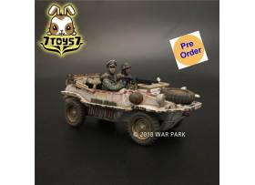 [Pre-order deposit] War Park 1/30 KH011 LSSAH winter Schwimmwagen 166 A_ Set _WP001J