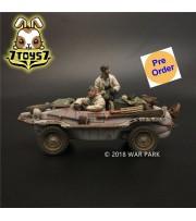 [Pre-order deposit] War Park 1/30 KH012 LSSAH winter Schwimmwagen 166 B_ Set _WP001K