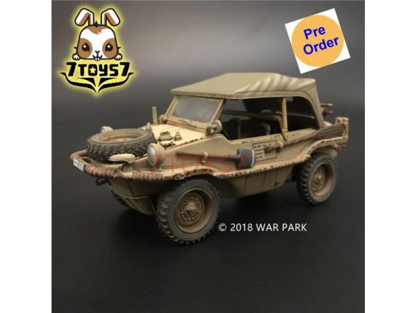 [Pre-order deposit] War Park 1/30 KH013 LSSAH yellow Schwimmwagen 166_ Set _WP001L