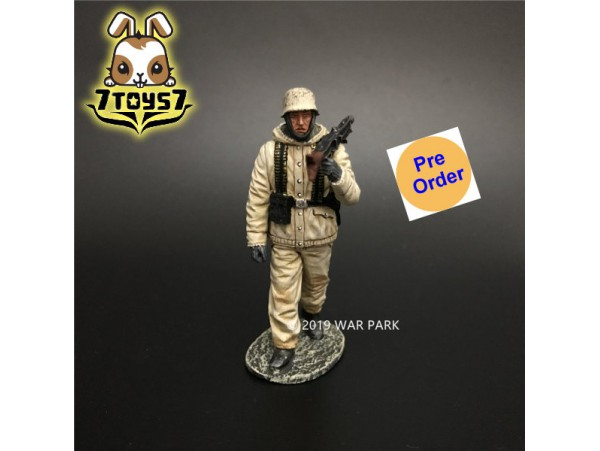 [Pre-order deposit] War Park 1/30 KH076 German Soldier is Marching with MG42_ Figure _WP005F