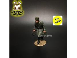[Pre-order deposit] War Park 1/30 KU015 Grog deutschland Soldier w/ MG34 Ammo_ Figure _WP007F
