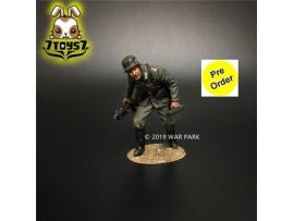 [Pre-order deposit] War Park 1/30 KU016 Grog deutschland Soldier w/ MG34_ Figure _WP007G