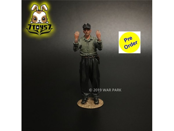 [Pre-order deposit] War Park 1/30 KU021 Grog deutschland Tank Crew_ Figure _WP008D