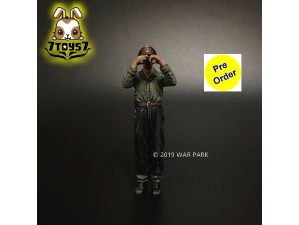 [Pre-order deposit] War Park 1/30 KU024 Grog deutschland Tank Crew_ Figure _WP008G