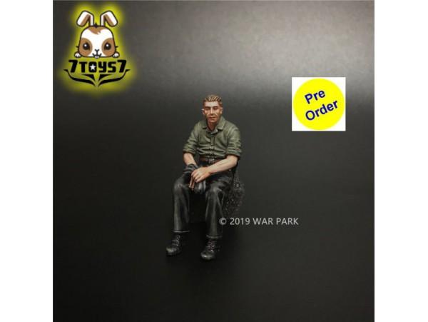 [Pre-order deposit] War Park 1/30 KU025 Grog deutschland Tank Crew_ Figure _WP008H