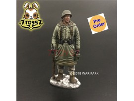[Pre-order deposit] War Park 1/30 KH002 LSSAH officer with MG42 Ammo_ Figure _WP001B