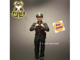 [Pre-order deposit] War Park 1/30 KH007 LSSAH tank officer with cap_ Figure _WP001F