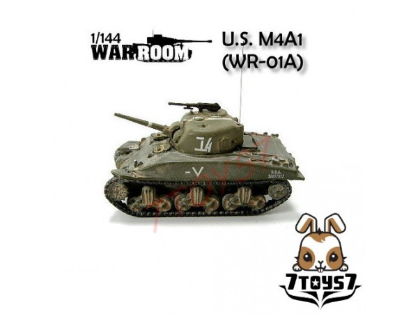 War Room 1/144 M4A1 US Sherman Tank #A  WR001A