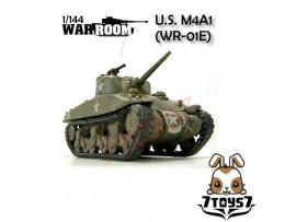War Room 1/144 M4A1 US Sherman Tank #E WR001E