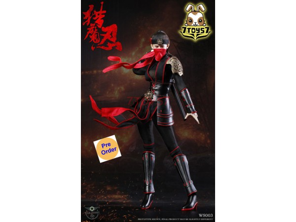 [Pre-order] War Story 1/6 WS003 Female Ninja_ Box Set _WS002Z