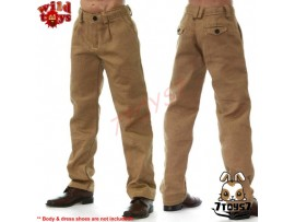 Wild Toys 1/6 A2_ Walnut Chino Pants _Fashion Now WT018P