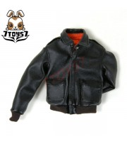 Wild Toys 1/6 A2_ Black Jacket only _Leather-like Fashion A-2 Jacket WT018G