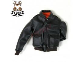 Wild Toys 1/6 A2_ Black Jacket only _Leather-like Fashion A-2 Jacket WT018G