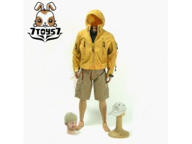 Wild Toys 1/6 Adventure & Tactical_ Mustard Yellow Set _Jacket Shorts WT011D