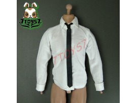 Wild Toys 1/6 WT024 Agent James Black Set_ Shirt + Tie _Modern 007 Now WT029E